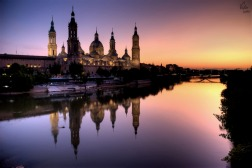 Reflejos sobre el Ebro / Reflections on river Ebro